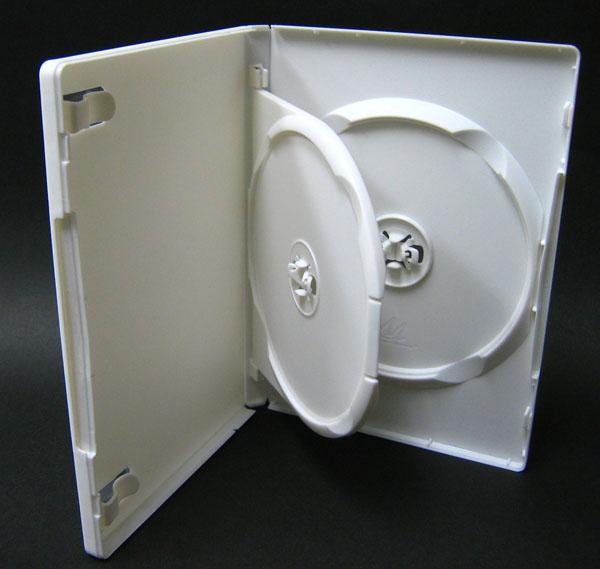 2枚収納 Mロックトールケース フリップタイプ ホワイト