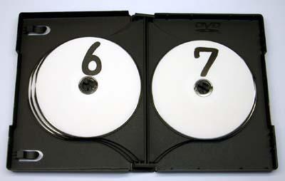 マルチDVDケース 10枚収納 ブラック