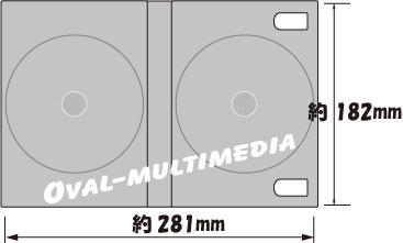 6枚収納DVD・BDケースジャケットサイズ