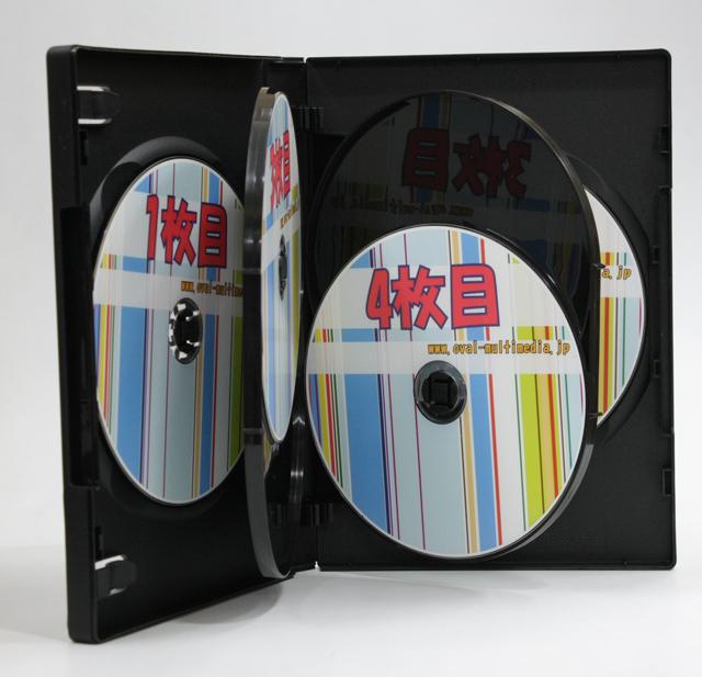 6枚収納DVD・BDケース