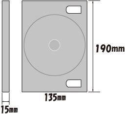 トールケースのサイズ