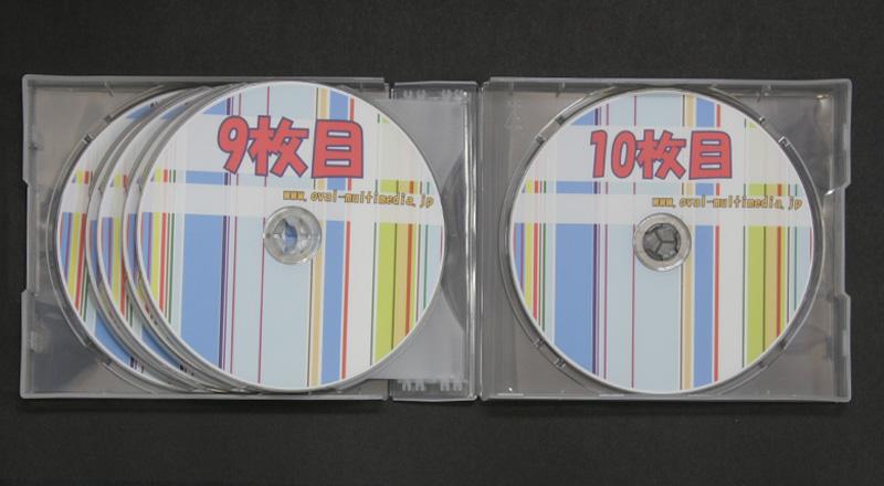 割れにくい多数枚収納CDケース